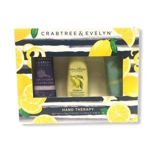 NIB Crabtree & Evelyn Hand Therapy Set of 3